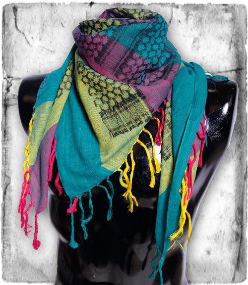 Dayglo PLO Scarf