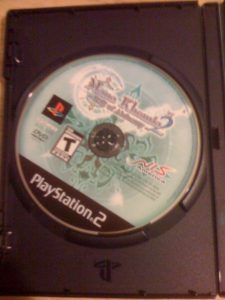 And finally, a picture of the game disc