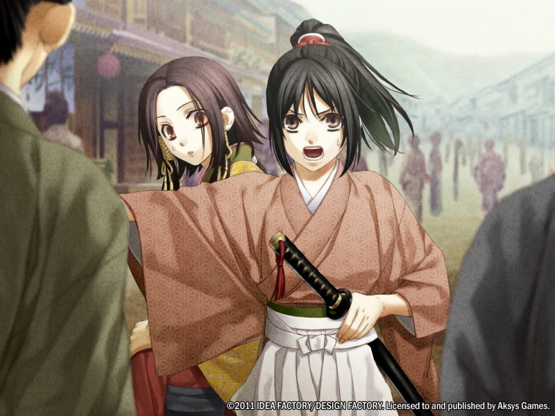 This Historical Adventure Set In Japans Edo Period Is One Of The First Otome Games To
