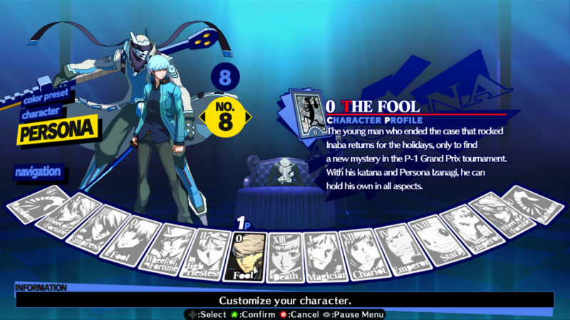 More Character Bios for Persona 4 Arena! | The G A M E S  Blog