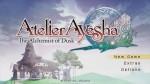 Atelier Ayesha Logo Screen