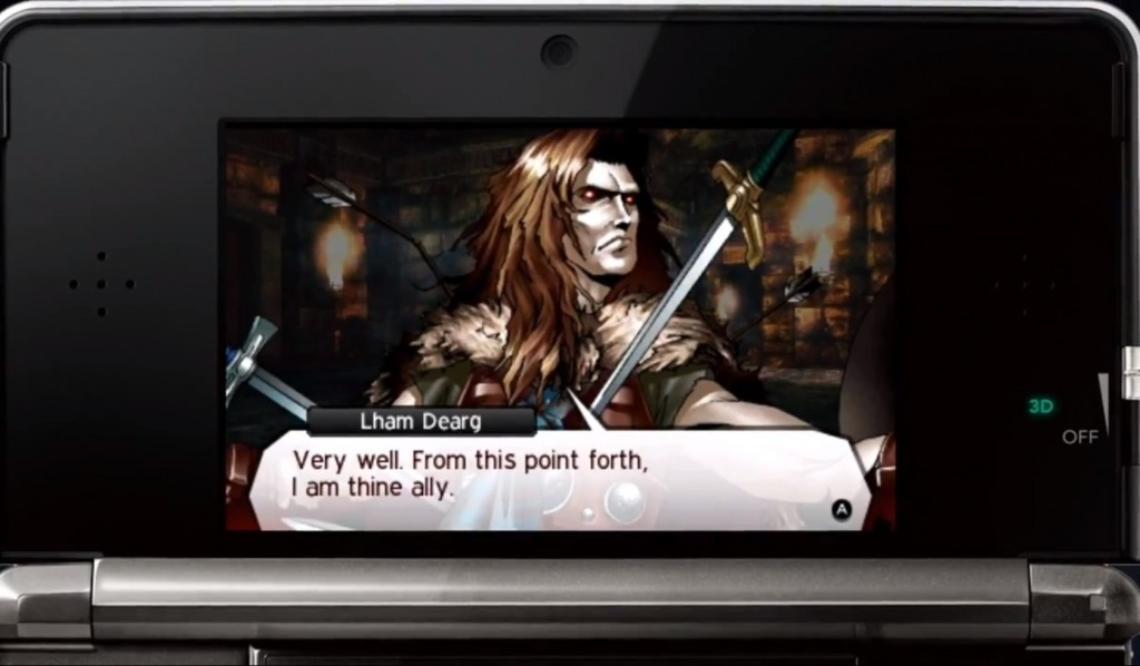 SMT IV Demon Conversation