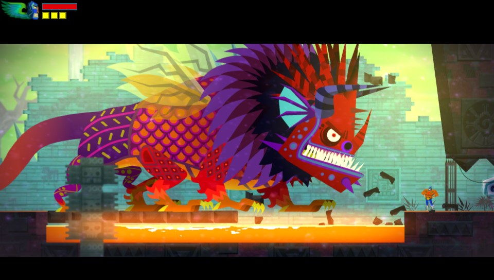 Guacamelee! is gorgeous to look at.