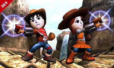 Smash Bros 3ds mii customization