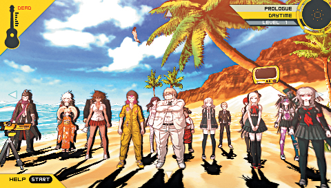 Danganronpa 2 Beach