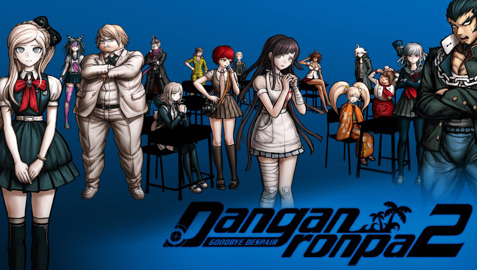 Danganronpa 2 Splashscreen