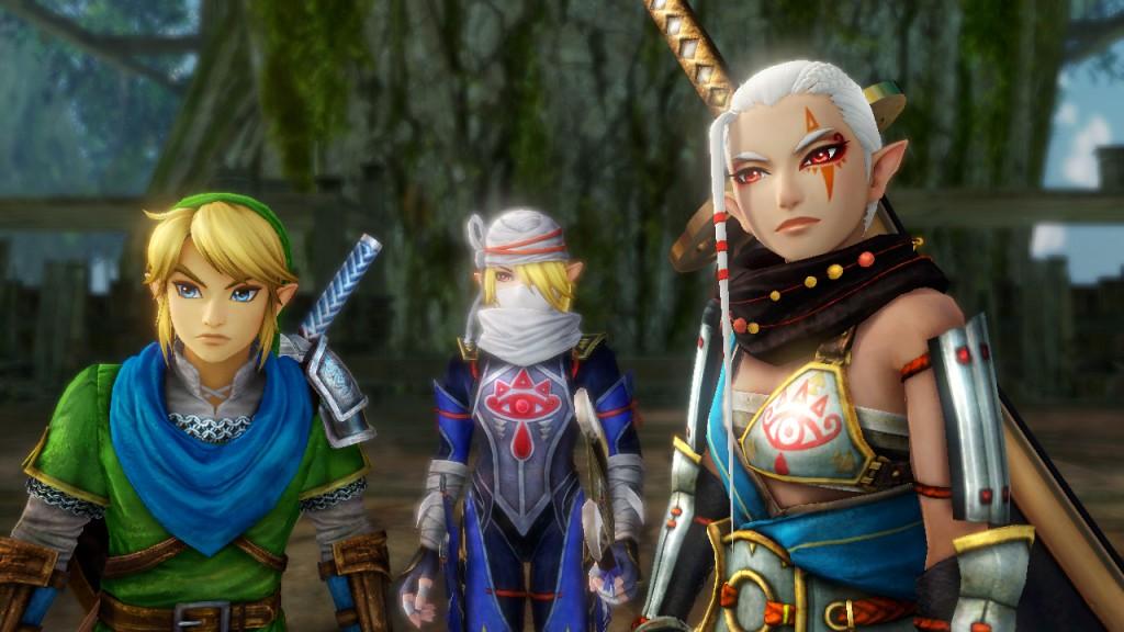 Hyrule Warriors group