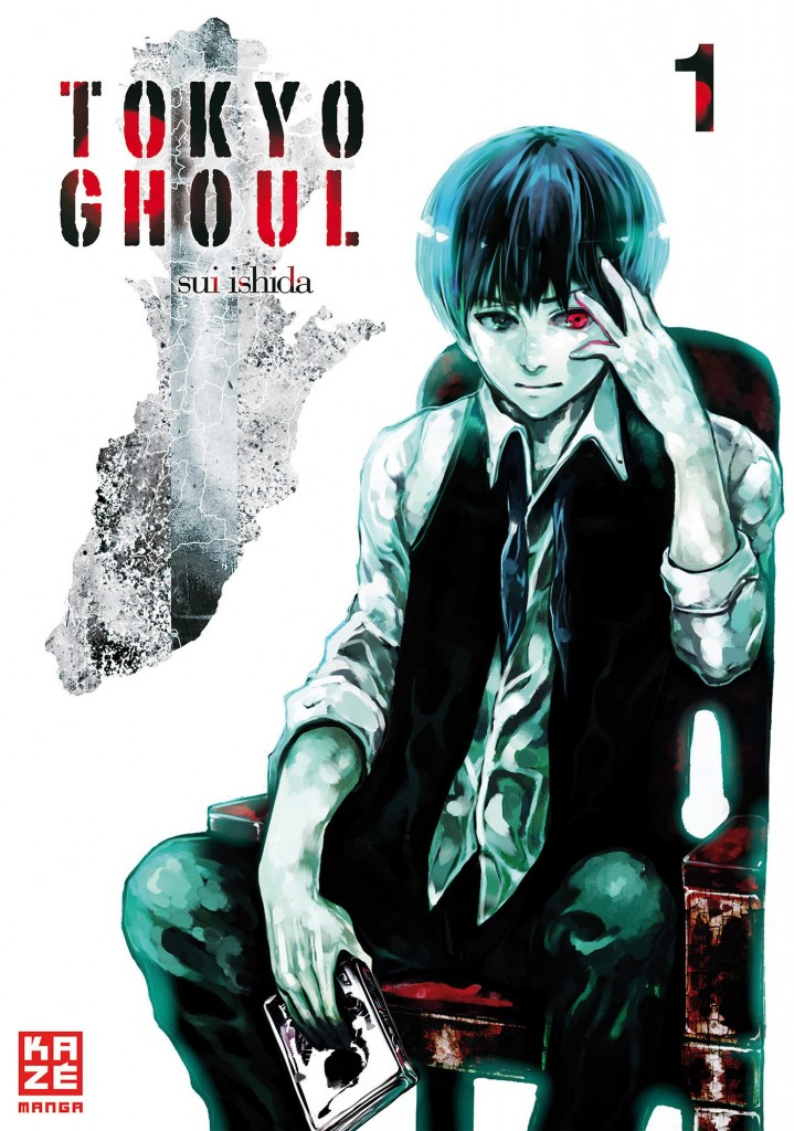 Tokyo Ghoul Japanese Cover