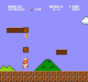 How many concussions do you think Mario has from hitting his head on blocks?